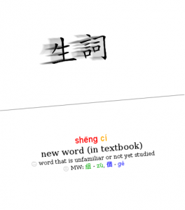 Learn Chinese vocabulary fast and efficiently