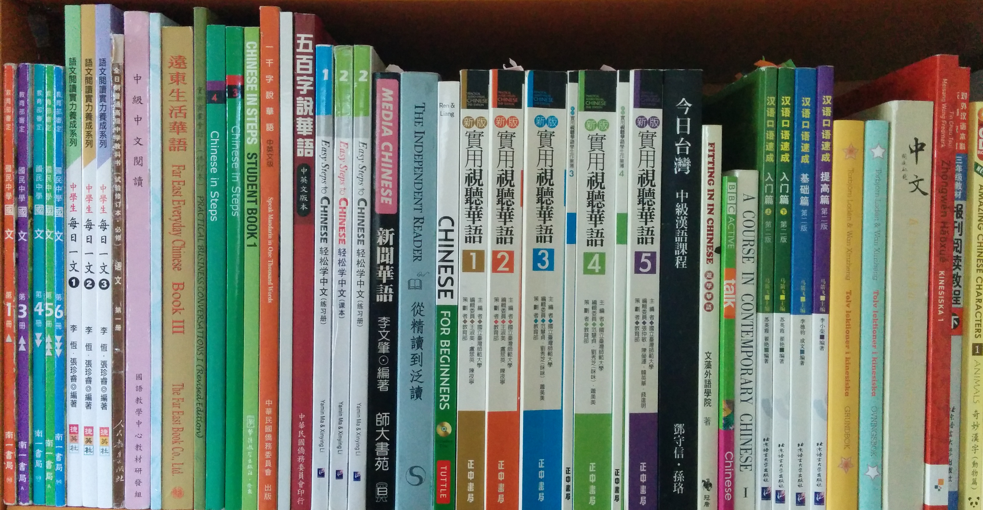 Using Chinese Textbooks To Improve Reading Ability