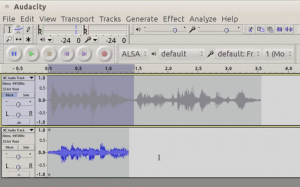 Using Audacity to mimic native speakers