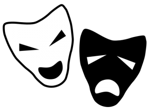 Image source: en.wikipedia.org/wiki/File:Drama-icon.svg