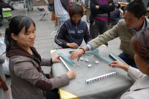 Learnig Chinese by playing Mahjong